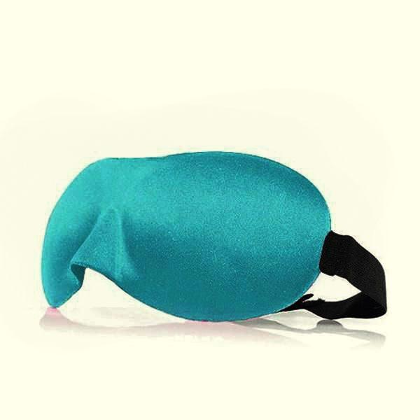 3d маска для сна голубая