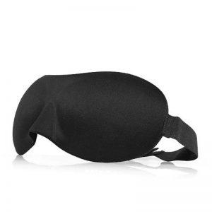 3d маска для сна черная