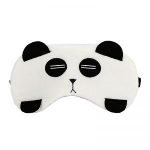 """Маска для сна """"Панда"""" с охлаждающей вставкой"""