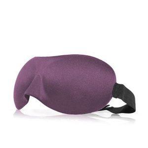 3d маска для сна фиолетовая
