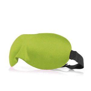 3d маска для сна салатовая