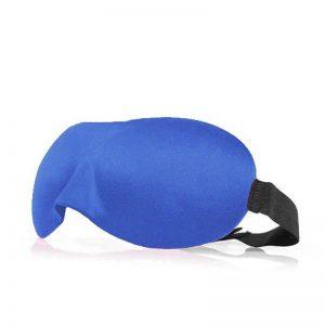 3d маска для сна синяя