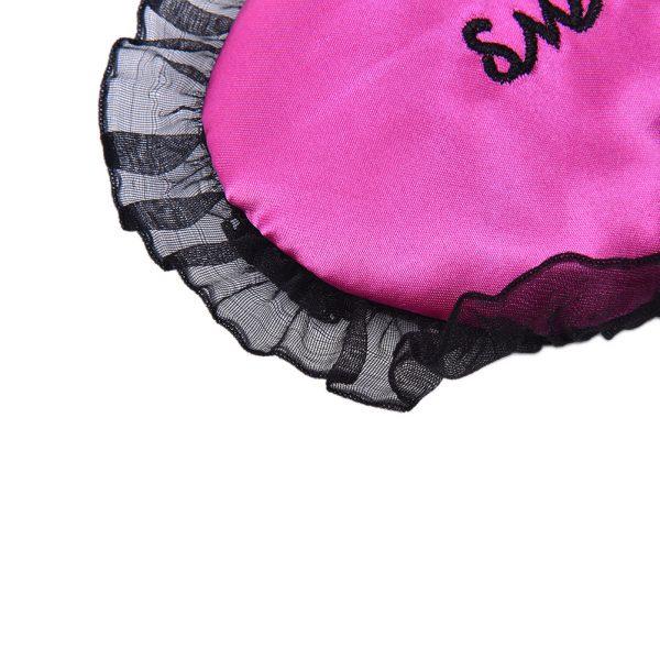 """Кружевная маска для сна пурпурная """"Sweet dreams"""""""