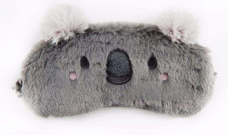 Меховые маски для сна