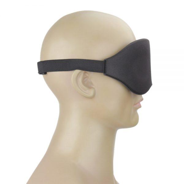 Маска для сна с эффектом памяти черная