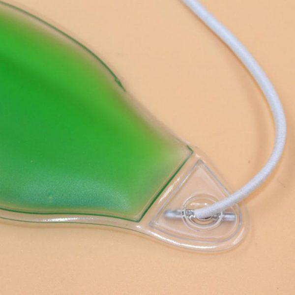 Охлаждающие очки на глаза зеленые