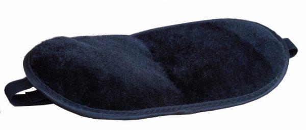 Турмалиновая маска для сна черная