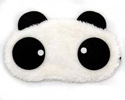 """Маска для сна меховая """"Панда"""""""