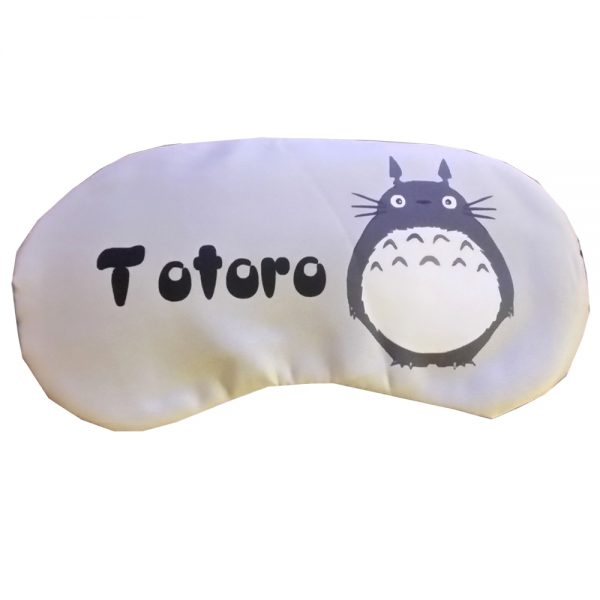 """Маска для сна с охлаждающей вставкой серая """"Тоторо"""""""