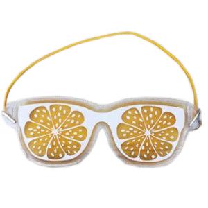 """Охлаждающие очки на глаза """"Апельсин"""""""