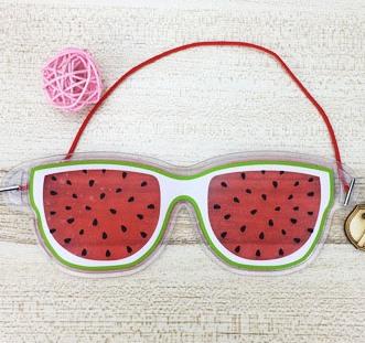 """Охлаждающие очки на глаза """"Арбуз"""""""