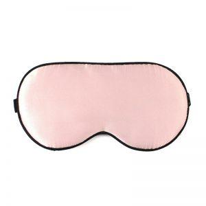 Маска для сна классическая розовая