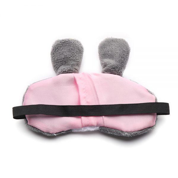 """Плюшевая маска для сна """"Серый кролик"""""""