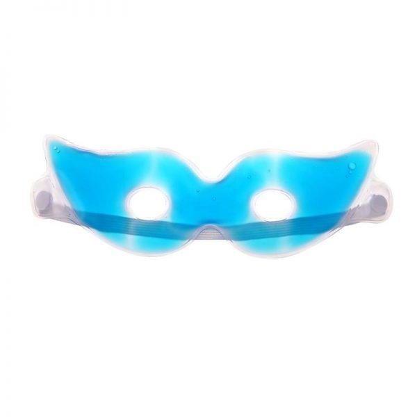 Охлаждающие очки на глаза голубые