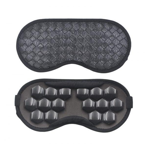 Турмалиновая маска для сна магнитная черная