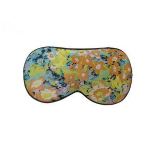 """Шелковая маска для сна с принтом """"Цветы"""""""