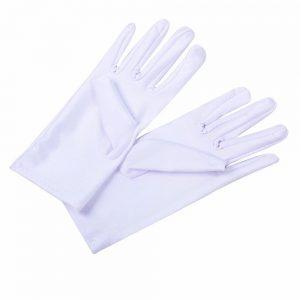 Косметические перчатки хлопковые
