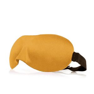 3d маска для сна оранжевая