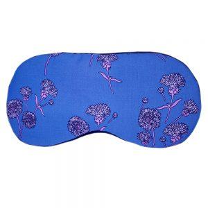 """Маска для сна """"Blue Flower"""" из итальянского шелка и вискозы"""