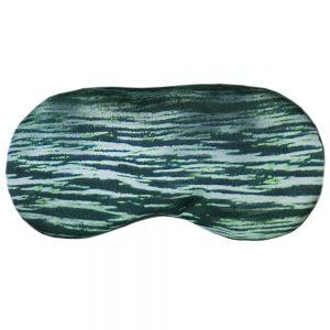 """Маска для сна """"Зеленое сияние"""" из итальянского шелка"""