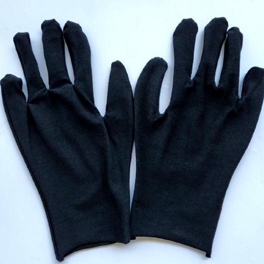 Перчатки хлопковые черные