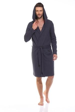 Трикотажный халат с капюшоном Sport's Idol (PM France 410-1)