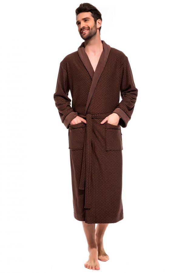 Облегченный махровый халат из бамбука Organique Bamboo (PM France 419)