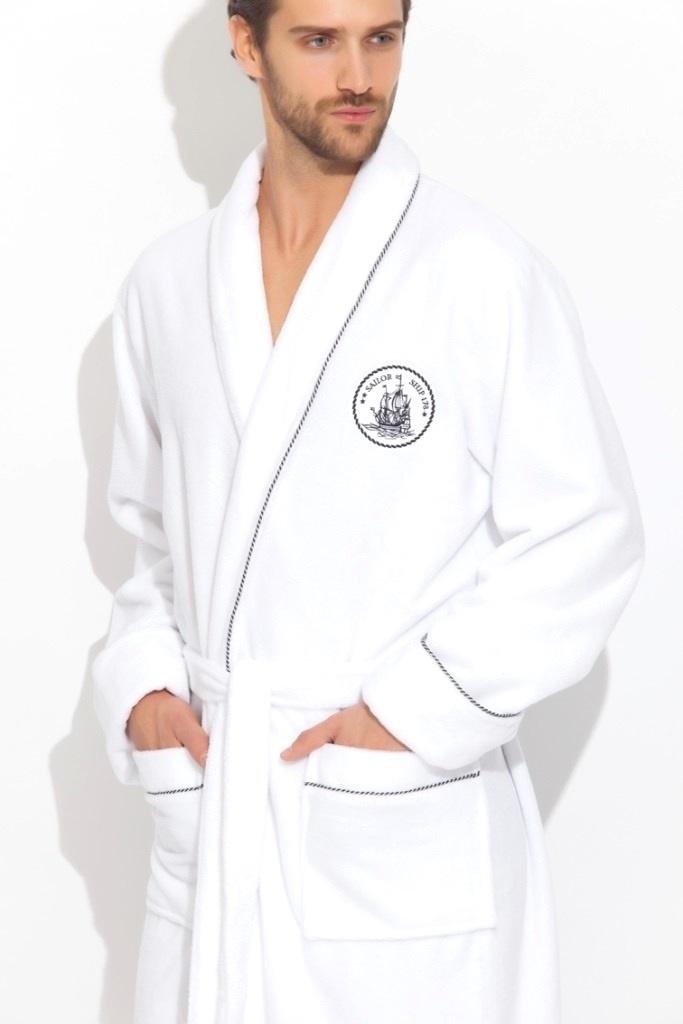 Стильный махровый халат Pirates (PM 915)