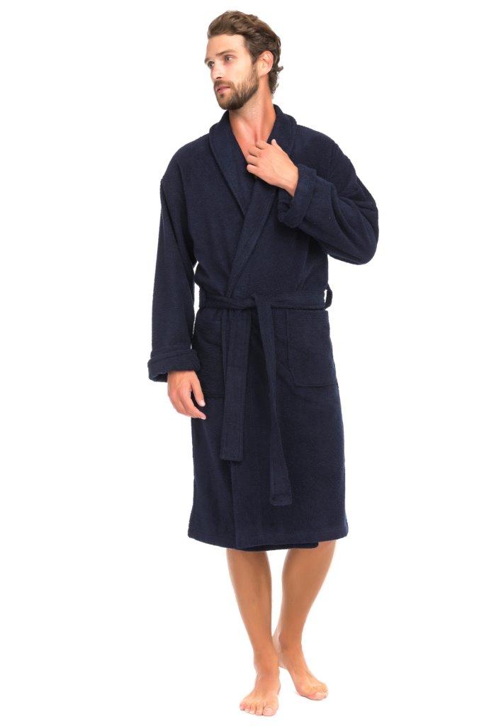 Банный махровый халат Deep Blue (Е 363/5)