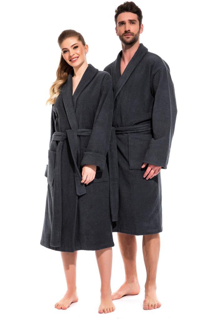 Банный махровый халат Gray Label (Е 365)