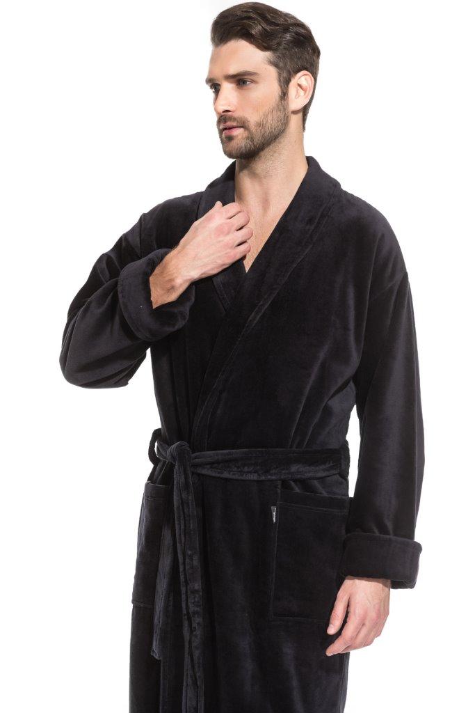 Мужской махровый халат Optimum (PM France 941)