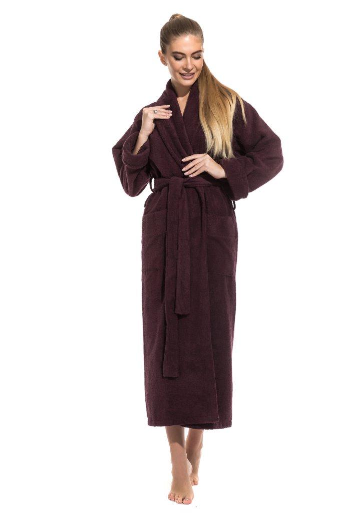 Удлиненный махровый халат Pure Comfort (PM 740)