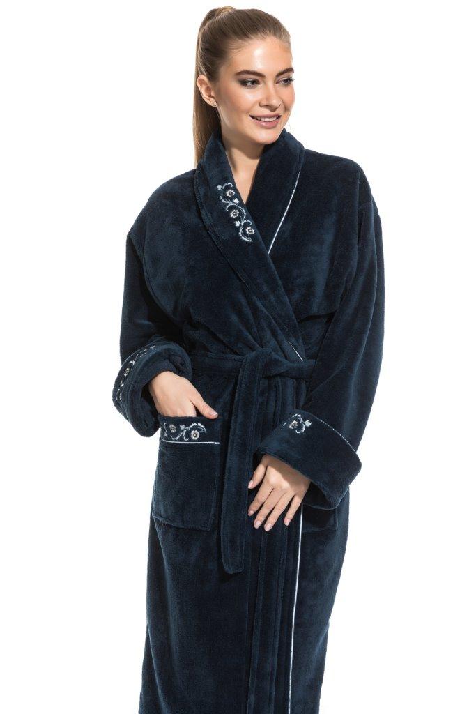 Махровый халат из бамбука Caramélé (PM France 709)