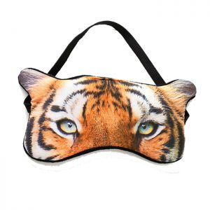 Маска для сна веселая Тигр настоящий